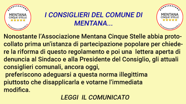 COMUNICATO post COMMISSIONE